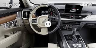 audi a6 interior at volvo s90 vs audi a6