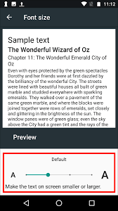 android default font android 7 nougat large text my computer my way