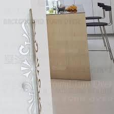 Decorative Corner Protectors For Walls Abstract Elegant Plants 3d Mirror Edge Corner Guards Decoration