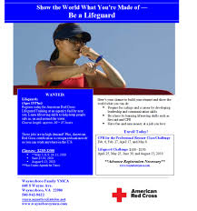 Resume For Lifeguard Y Offering Lifeguard Certification Classes Waynesboro Family Ymca