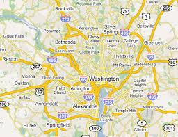 washington dc region map dc metro area web design development firms on the firm list usa