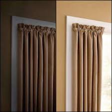 Room Darkening Curtain Rod Blackout Curtains Valencia Textured Premium Blackout Eyelet With