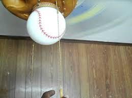 hunter baseball ceiling fan hunter baseball ceiling fan youtube