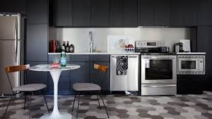 Kitchens With Black Cabinets Makeover U2013 A Small Condo Kitchen With Black Cabinets Youtube