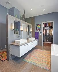 shower doors of houston bathroom contemporary with beige floor