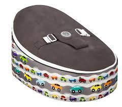 bean bag planet as snug as a hug grey cars baby bean bag