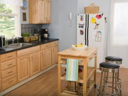 small kitchen island with stools outofhome