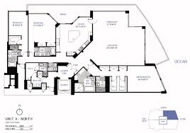 Condominium Plans Floorplans For Bellini Condo Bal Harbour Miami Florida Area