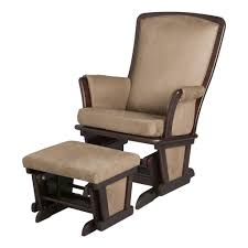 Modern Wooden Rocking Chair Furniture Modern Nursery Rocking Chair With Unique Ottoman For