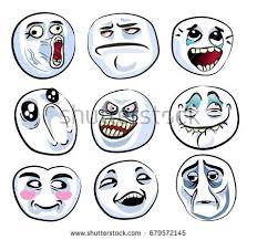 Meme Faces In Text Form - internet meme stock images royalty free images vectors