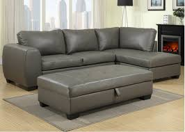 Contemporary Black Leather Sofa Furniture Living Room Futuristic Corner Black Leather Sofa