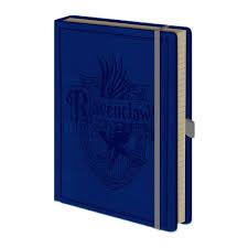 harry potter ravenclaw house crest premium hardback notebook