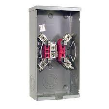 square d 200 amp underground pedestal meter socket uhtrp242363