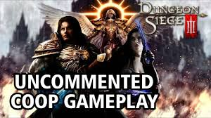 dungeon siege 3 split screen dungeon siege 3 coop gameplay