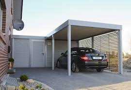 furniture metal steel portable costco carport with grey cover for