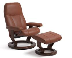 Classic Chair Stressless Consul Leather Recliner Chairs