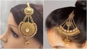 indian bridal hair accessories designs