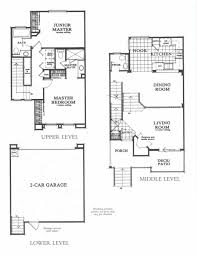 Tri Level Floor Plans Apartment Unit 158 At 10198 Wateridge Circle San Diego Ca 92121