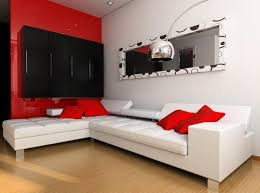 Red And Black Living Room Decorating Ideas Of Worthy Red And Black - Red living room decor