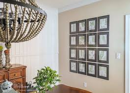 Art For Dining Room Wall Dining Room Makeover How To Fill A Large Wall With Art For Under