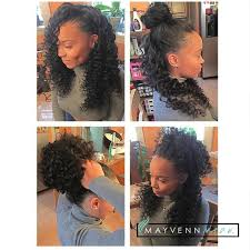partial sew in hairstyles for synthetic hair 399 best mayvenn stylists work images on pinterest braids hair