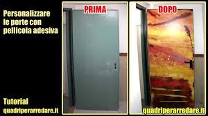 adesivi porta adesivi per porte e armadi come applicarli sulle porte senza