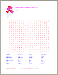 printable valentine word search valentine u0027s day word searches