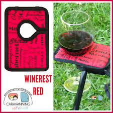 Camping Chair Sale Winerest Camping Chair Wine Glass Holder Green Caravanning With Kids