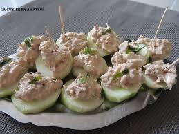 cuisiner concombre la cuisine en de maryline canapés de concombre