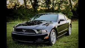 Black 2013 Mustang 5th Gen Black 2013 Ford Mustang V6 Automatic For Sale