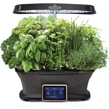 Kitchen Herb Pots Hydroponic Systems Pots U0026 Planters The Home Depot