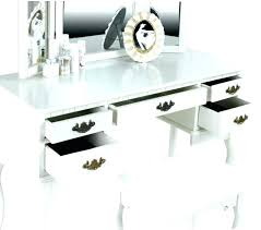 black makeup desk with drawers desk with drawers on both sides white makeup desk with drawers white