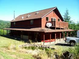 Log Homes With Wrap Around Porches Custom Oregon Homes U0026 Remodeling Greenridge Construction Llc