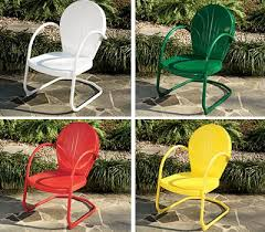 Motel Chairs Adorable Retro Patio Chairs With Retro Patio Furniture Metal