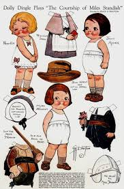 93 best paper doll dolly dingles images on paper