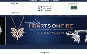 luxury jewelry store design updates by dotcom web designer in