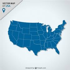 illustrator usa map outline 2 america vectors photos and psd files free