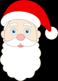 santa face picture free download clip art free clip art on