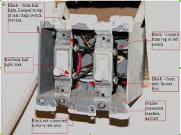 need help adding double switch to existing wiring please