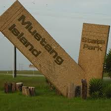 mustang island state park weather map of mustang island state park living