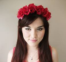 floral headband roses are floral headband floral crown flower crown