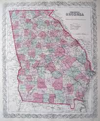 Map Of Georgia And Florida by Antique Maps Of Georgia