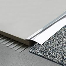 T Shaped Transition Strip by Snless Steel Flooring Transition Strips Carpet Vidalondon