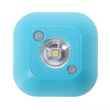 infrared pir motion sensor led ceiling night light battery porch
