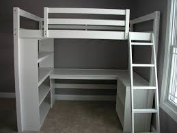 Build A Loft Bed With Desk I Build This Dream Study Loft Bed Loftmonkeycleveland Gmail Com