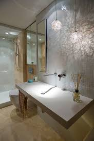 Spa Bathroom Lighting Bathroom Pendant Lighting Placement Popular Bathroom Pendant