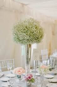 High Vases Best 25 Baby U0027s Breath Wedding Arrangements Ideas On Pinterest