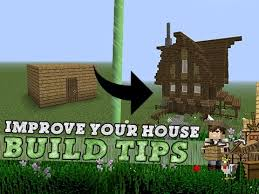 house building tips minecraft improve your house build tips youtube