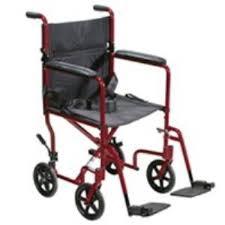 economy aluminum narrow transport chair