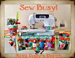 Armchair Sewing Caddy Pattern Sew Busy Organizer Moda Bake Shop